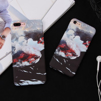 High Quality Volcano Case for iPhone 7 7Plus & iPhone se 5s 6 6 Plus Best Protection Cover +Gift Box-154