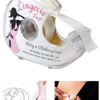 Double Sided Adhesive Lingerie Tape Body Clothing Clear Bra Strip