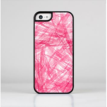 The Subtle Pink Watercolor Strokes Skin-Sert for the Apple iPhone 5c Skin-Sert Case