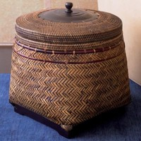 Rinjani Basket with Lid