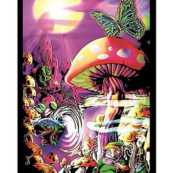 Magic Valley Blacklight Poster - Spencer's