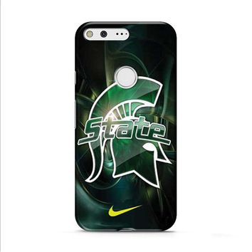 Michigan State nike 2 Google Pixel XL 2 case