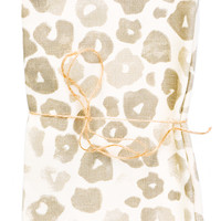 Washed Leopard Print Napkin Set