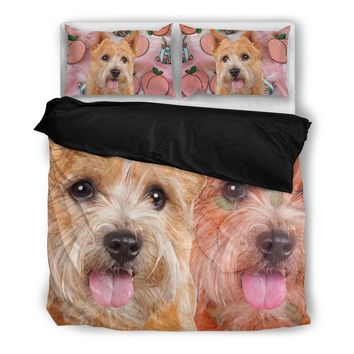 Norwich Terrier Print Bedding Set-Free Shipping