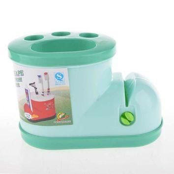 Cute Plastic Receive Boots Toothbrush Holder Bathroom Products Toothpaste Dispenser