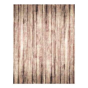Rustic wood grain background scrapbook paper letterhead
