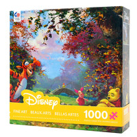 disney art coleman winnie the pooh's afternoon nap 1000 pcs puzzle new with box