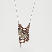 Totokaelo - AdP by Arielle de Pinto Tiger Stripe Drop Necklace - $248.00