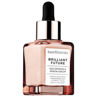 Sephora: bareMinerals : BRILLIANT FUTURE™ Age Defense & Renew Serum : face-serum