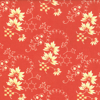 Tapestry Rococo by Joanna Figueroa of Fig Tree Quilts for Moda Fabrics, coral
