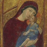 Dalmatian School, c. 1400 | The Madonna and Child | Old Master & British Paintings Auction | Paintings, gold | Christie's