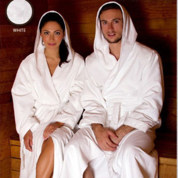 Microfiber Plush Robe With A Hood | Style: MPRH300
