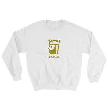 Gold king with crown and king's quote Sweatshirt