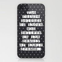 The future belongs to those  iPhone & iPod Skin by Natalie French  | Society6