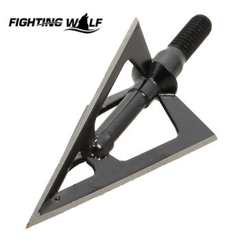1 pcs lot Hunting Arrow Tip Broadheads 100GR 3-blades Fit Hunting Archery Compound Bow or Crossbow for Hunting Sport