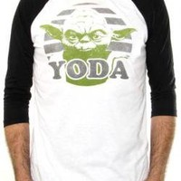 ROCKWORLDEAST - Star Wars, Baseball Jersey Shirt, Yoda
