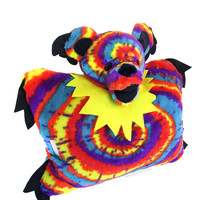 Grateful Dead - Tie Dye Bear Pillow Pet on Sale for $29.99 at HippieShop.com