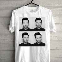 adam levine maroon, maroon 5 black and white print Funny shirt for t shirt mens and t shirt girl size s, m, l, xl, xxl