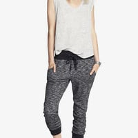 CONTRAST TRIM FRENCH TERRY JOGGER PANT from EXPRESS