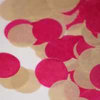 TISSUE PAPER CONFETTI / table decoration / wedding decorations / balloon confetti / confetti toss / round confetti / table decoration