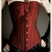 THE ROUGE REVERENCE GOTHIC CORSET