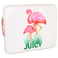 Juicy Couture Coated Canvas Flamingo Tablet Case