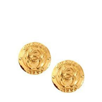 Susan Caplan Vintage Chanel 90s Large Clip Earrings at asos.com