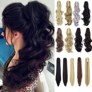 Women's Long Ponytail Hair Extensions Synthetic Hair - Performance & Stage Hair