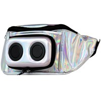 Silver Hologram Bluetooth Fanny Pack