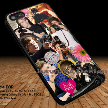 Artist Collage iPhone 6s 6 6s+ 5c 5s Cases Samsung Galaxy s5 s6 Edge+ NOTE 5 4 3 #music #1d DOP2125