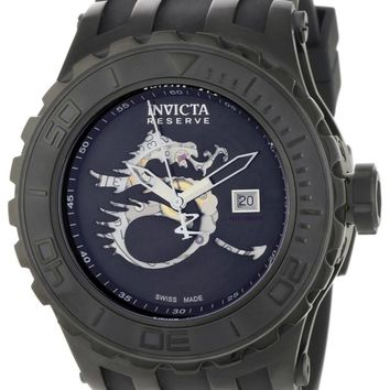 Invicta 0511 Men's Reserve Black Dial Swiss Automatic Watch