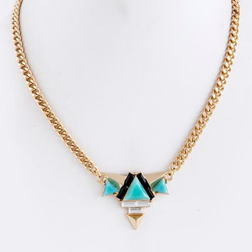 """Summer in Ibiza"" Necklace (Turquoise)"