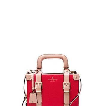 Kate Spade Go Fly A Kite Luggage Satchel Cherry Liqueur ONE