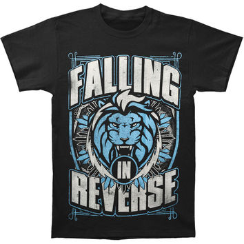 Falling In Reverse Men's  Lion Shield T-shirt Black Rockabilia