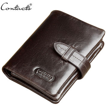 Leather Wallet Men Casual Purse [9026514819]