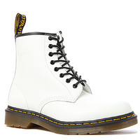 The 1460 8-Eye Boot in White