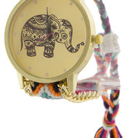 Lucky Elephant Watch- Multi