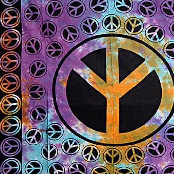 Yin Yang Ying YangTapestry Tye Dye Tapestry Cotton Bed cover, Tapestries ,Bed Sheet, Throw, Wall Hanging,Hippie Wall Hanging,Decorative Art