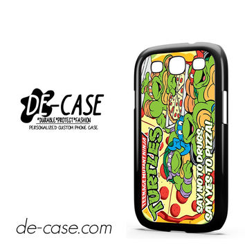 Tmnt Ninja Turtle Say Yes To Pizza For Samsung Galaxy S3 Case Phone Case Gift Present YO