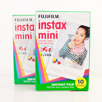 Fujifilm Instax Mini Film White Polaroid Instant Photo