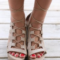 Secret Garden Natural Wrap Wedge