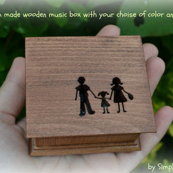 music box, music boxes, wooden music box, custom music box, mom, gift for mom, musicbox, personalized music box, mother of the bride gift