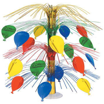 "Beistle 50554 18"" Balloon Cascade Centerpiece"
