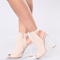 Walk All Over You Heel - Nude