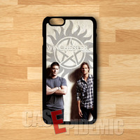 winchester brothers supernatural-nay for iPhone 4/4S/5/5S/5C/6/ 6+,samsung S3/S4/S5,S6 Regular,samsung note 3/4