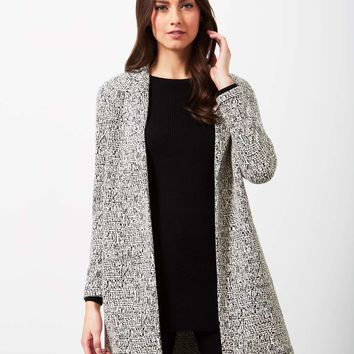 Scratchy Mono Duster Jacket | Missselfridge