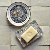 Hammam Ceramic Soapdishes | west elm