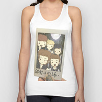 One Direction Story of My Life Cartoon Unisex Tank Top by xjen94