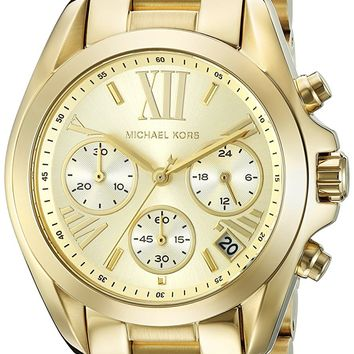 Michael Kors Women's Bradshaw Gold-Tone Watch MK5798