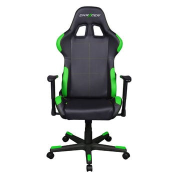 DXRACER FD99NE office chair gaming chairs automotive seat computer-Black/Green